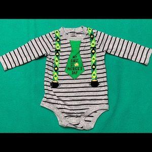 """My 1st St. Patrick's Day"" Bodysuit"